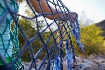 Blue Shawl Detail