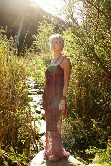 Copper Lace Dress