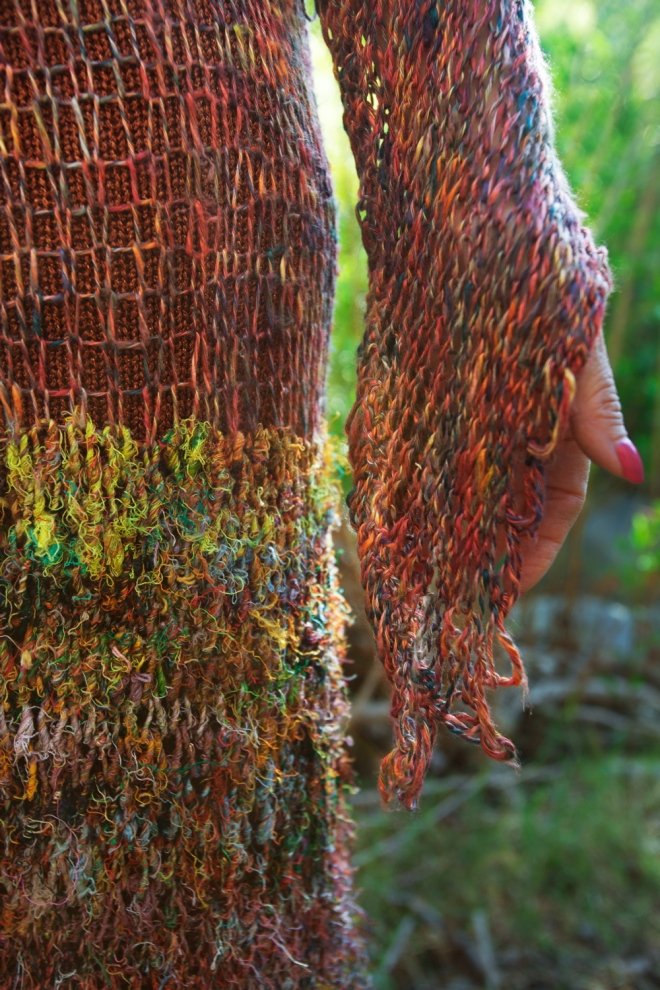 Recycled Sari Silk Dress