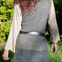 Alpaca Tweed Overlap Vest