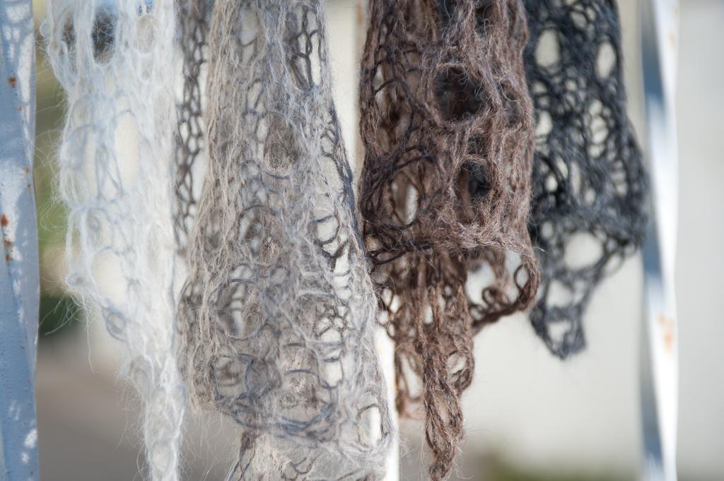 Baby Suri Alpaca Lace Scarves/Hairbands