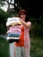 Washcloth Fundraiser Stack