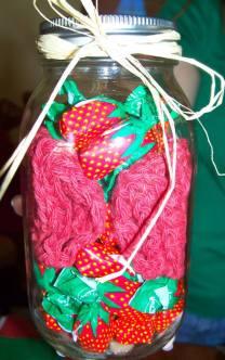 Mason Jar Washcloth
