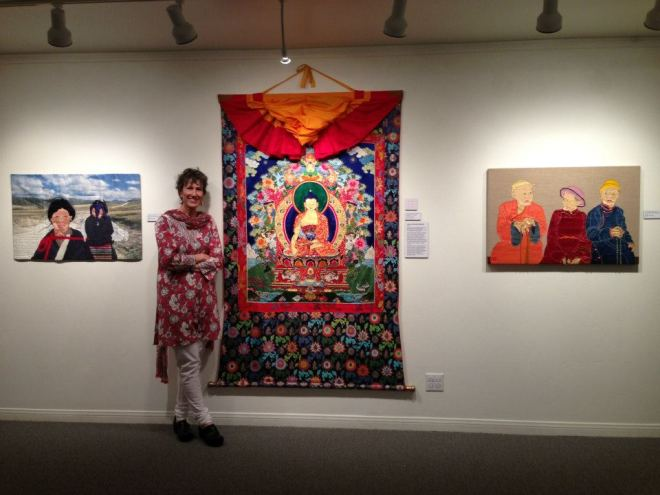 Leslie and Thangka