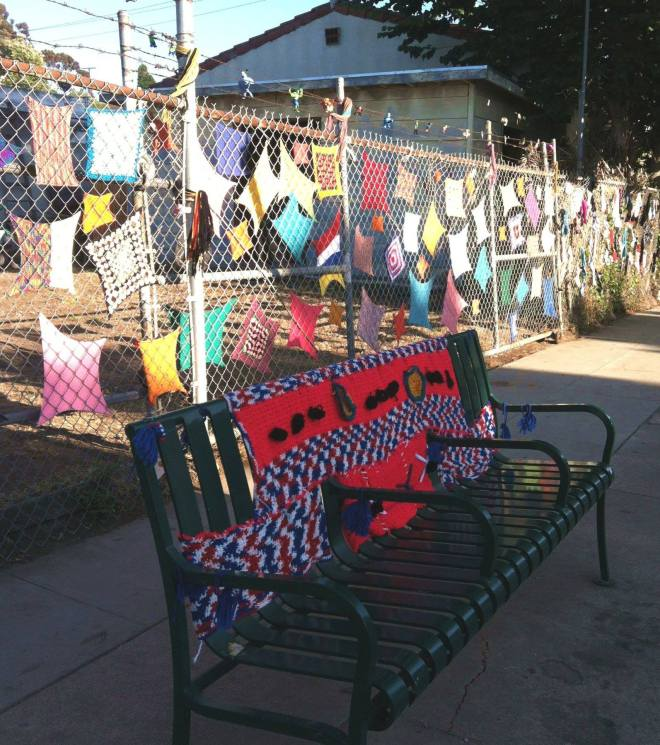 Ventura ArtWalk Bench and Squares