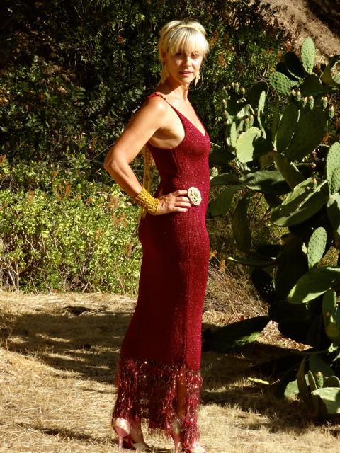 Winifred Burgundy Dress