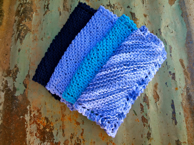 Blue WashCloths