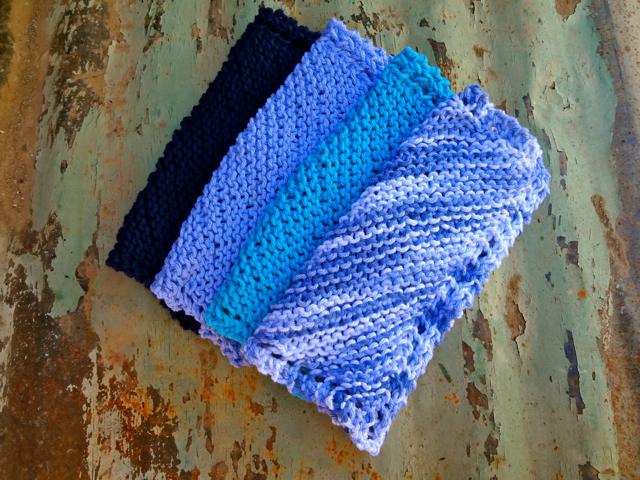 Blue WashCloths