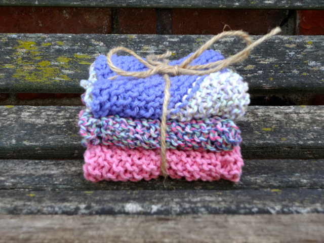 Lavender WashCloth Set