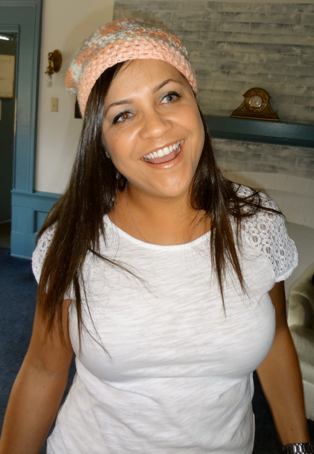 Daughter in Law and Pink Hat