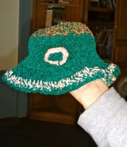 Turqoise Hat