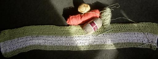 Yarn and Sage Blanket