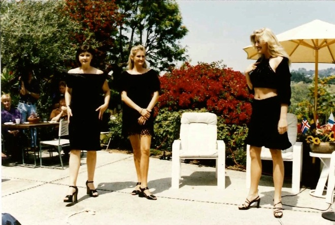 All Three Girls in Black