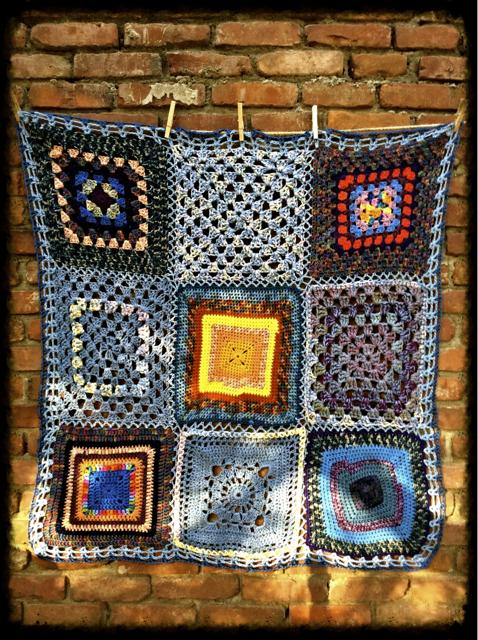Blue Prayer Blanket CareSquare