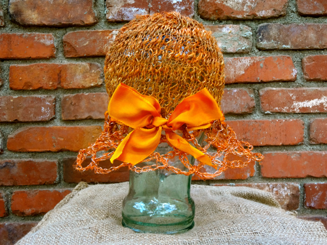 Orange Nettle Hat