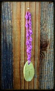 Lavender Rosary Bracelet