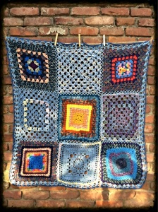 Blue Prayer Blanket