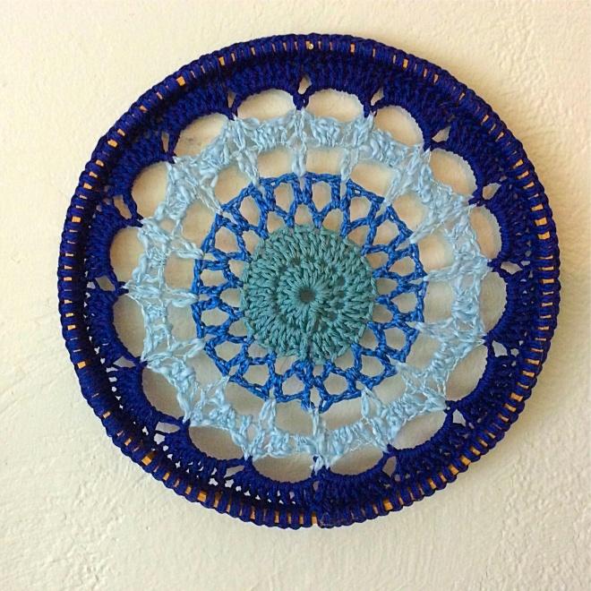 Blue Mandala Wall