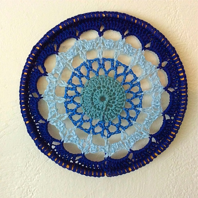 Blue Mandala Wall