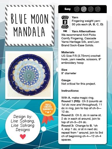 Blue Moon Mandala