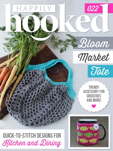 Happily Hooked Magazine January 2016 Cover